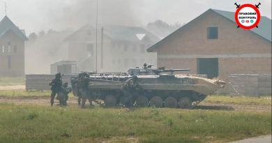 Військові навчання Україна-Литва-Польща у Львівській області