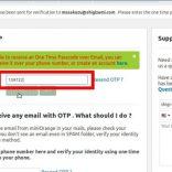 図3−3:コピーしたコードを貼り付ける。(メモしたコードを入力する。)「Validate OTP」をクリック。(OTPを検証)