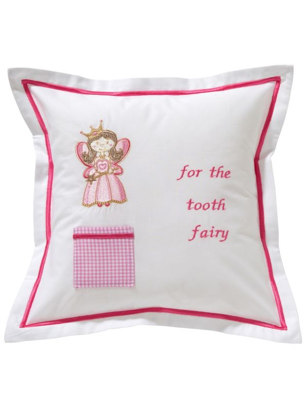 dg131 hfpk tooth fairy pillow cover happy fairy pink
