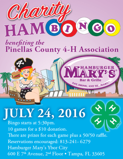 Hamburger Mary's Bingo