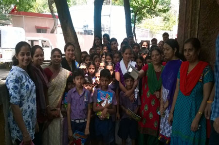 Community Programme for Deaf and Dumb students, New Panvel