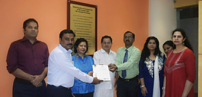 Pillai College of Arts, Commerce & Science is proud to announce that we have received certification of ISO 9001: 2015 in recognition of the institutions Quality Management Systems.