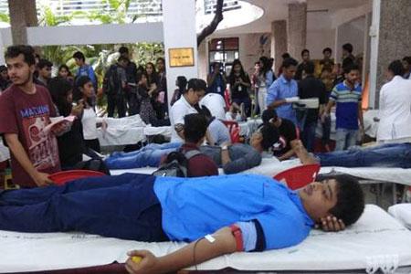 Mega Blood Donation Camp