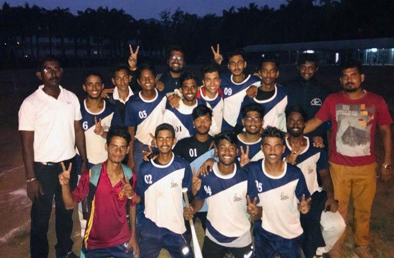 PCACS, New Panvel won Runners-up Title at Mumbai University Soft Ball (Men) Championship 2018-19