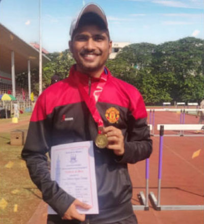 Mumbai University Athletics (10 km Walk) Championship