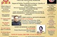 Virtual National Seminar on