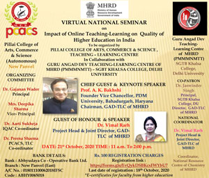 Virtual National Seminar on