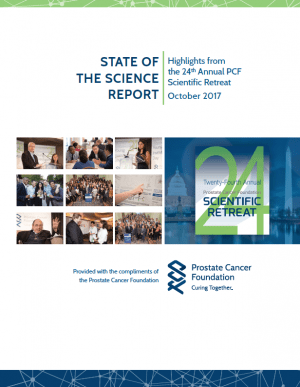 PCF's 2017 State of the Science Report - Prostate Cancer