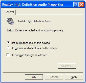audio komputer hilang