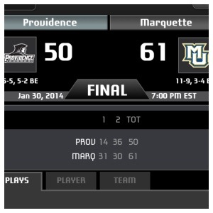 Rapid Reaction: Friars Fall at Marquette