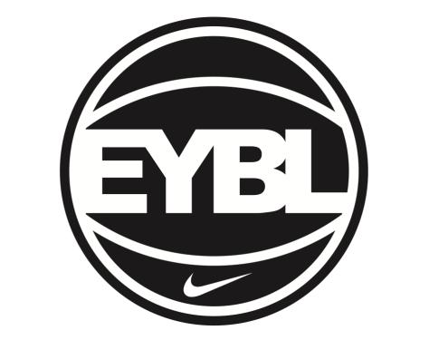 Nike EYBL ball logo