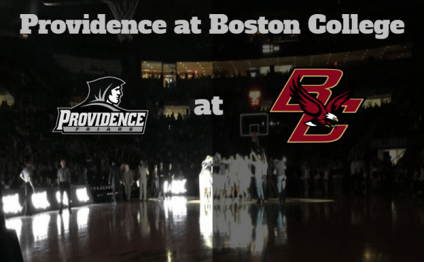 Game Notes & Preview: Providence (10-2, 0-0) at Boston College (6-6, 0-0) 12/23/16