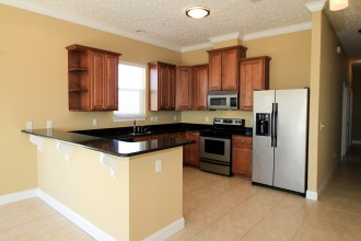 Gourmet kitchen with lots of upgrades