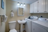 Added Half Bath in Laundry at Pinnacle Port