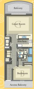 Calypso Tower 3 - Plan 1
