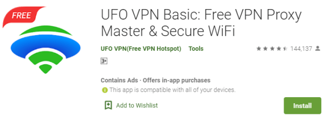 Download UFO VPN for pc 1