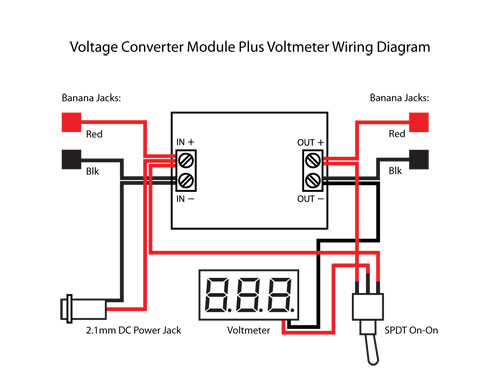 Step Up Step Down DC Buck Converter With Voltmeter   PCB Smoke