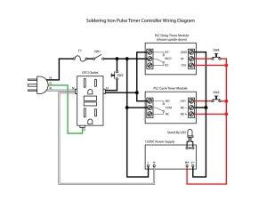 Soldering Iron Pulse Timer Temperature Control   PCB Smoke
