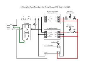 Soldering Iron Pulse Timer Temperature Control | PCB Smoke
