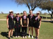 HHS Golf Team - 2014 District Champs