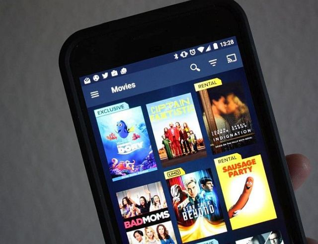 Vudu aplikacija za gledanje filmova