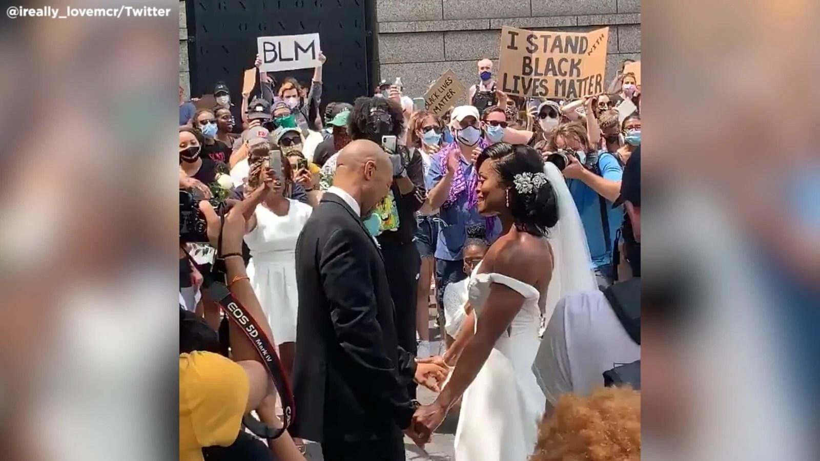 6236056 060720-cc-philly-protest-wedding-img jpg
