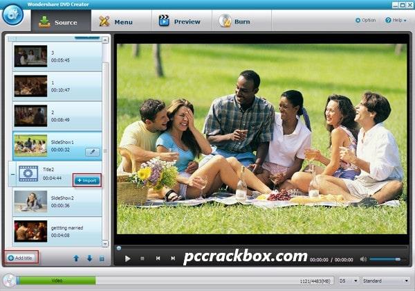 Wondershare DVD Creator Keygen Download