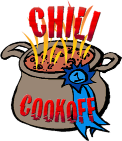 Chili cook off presbyterian church of deep run for Chili cook off clipart