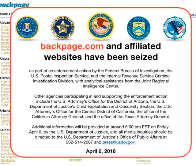 File This April 6 2018 File Photo Shows An Fbi Notice On The
