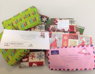 Eunice's presents & letters