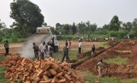 Delivery of building materials