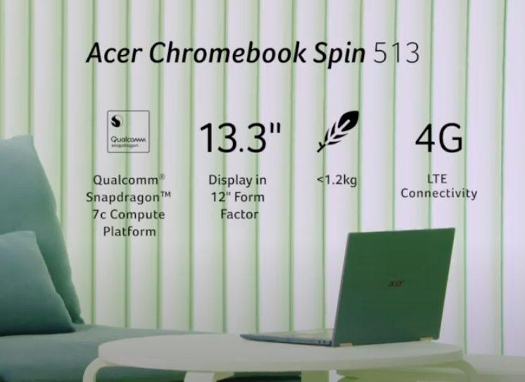 Chromebook Spin513