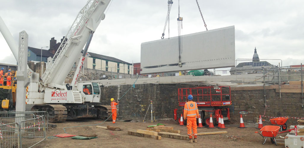 Bolton interchange – savings from offsite precast