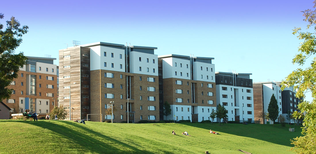 The University of the West of England precast concrete construction