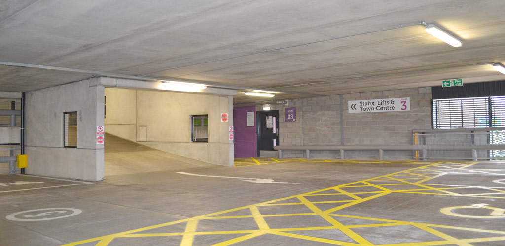 Precast Stafford car park now fully operational