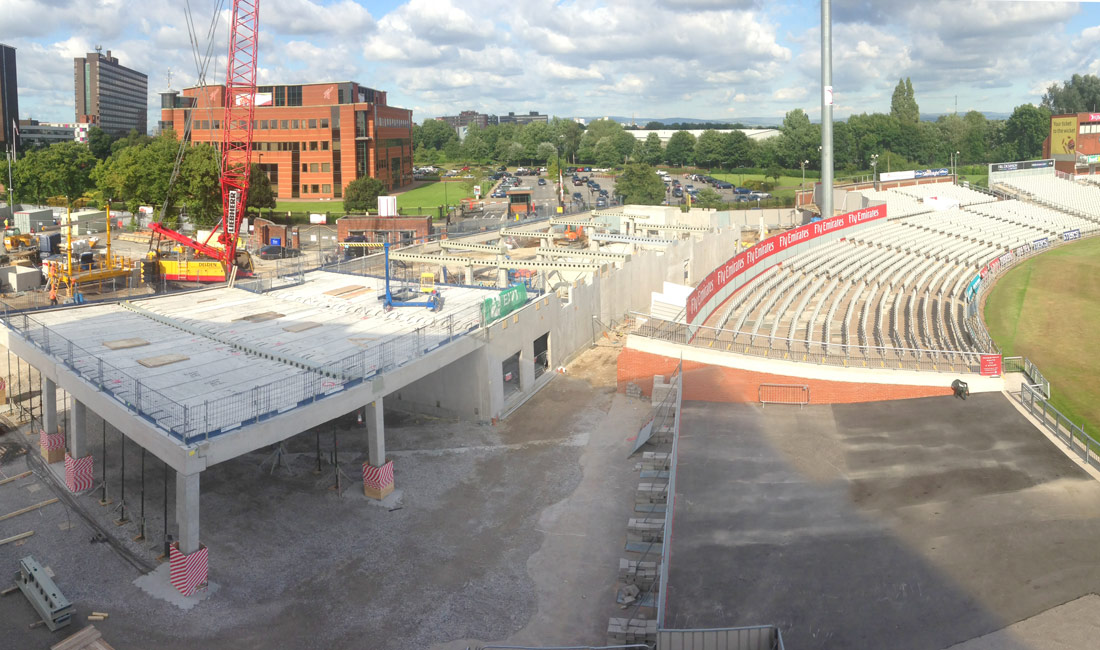 Emirates Old Trafford precast conscrete construction