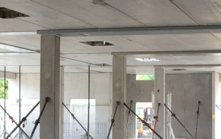The design and detailing of the offsite engineered structure is being carried out by PCE