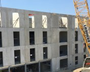 Offsite manufactured precast concrete installed in Southampton