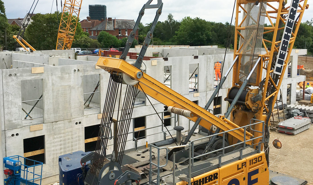 Portswood Road, Southampton update 2 – 2,990 precast concrete elements