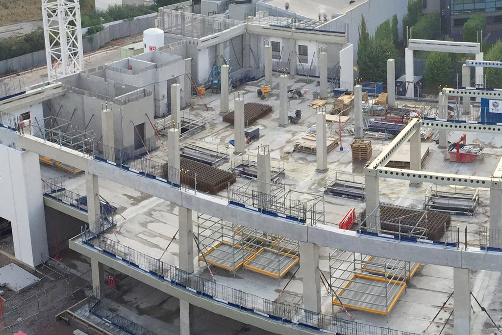 Capella update 8 – the benefits of hybrid precast construction