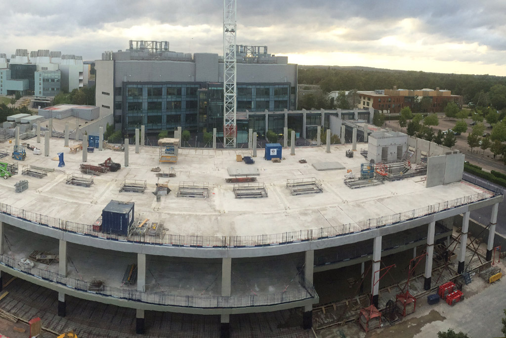 Capella update 9 – 126m3 concrete poured on ground floor topping