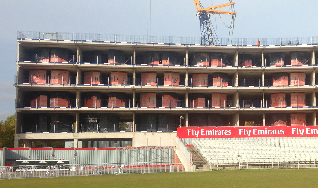 Emirates Old Trafford update 8 – ready for the top floor