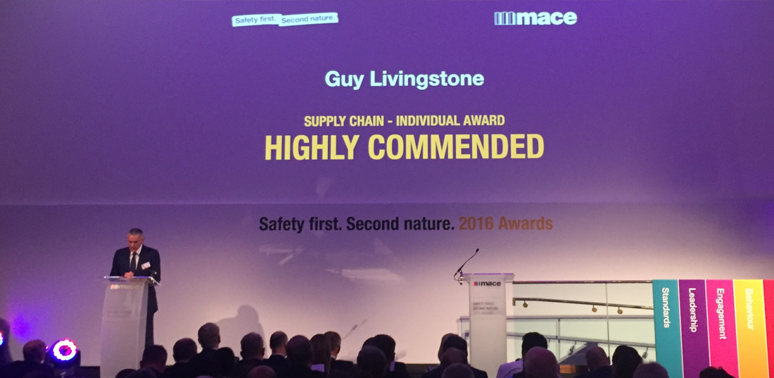 Mace Safety first Second nature awards