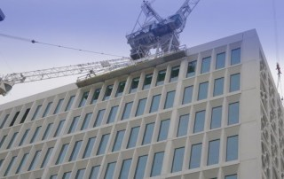Two St Peter's Square construction by PCE Ltd