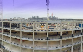 Volumetric concrete boxes at the core of the structure built by PCE.jpg