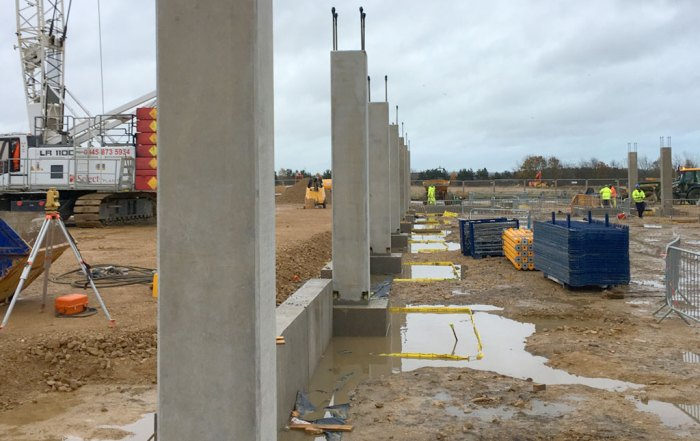 CEF Durham update - advanced precast hybrid project underway