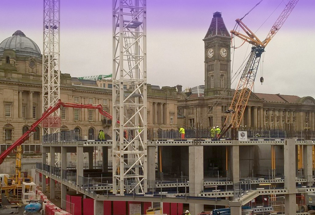The hybrid structure will provide a suspended car park level