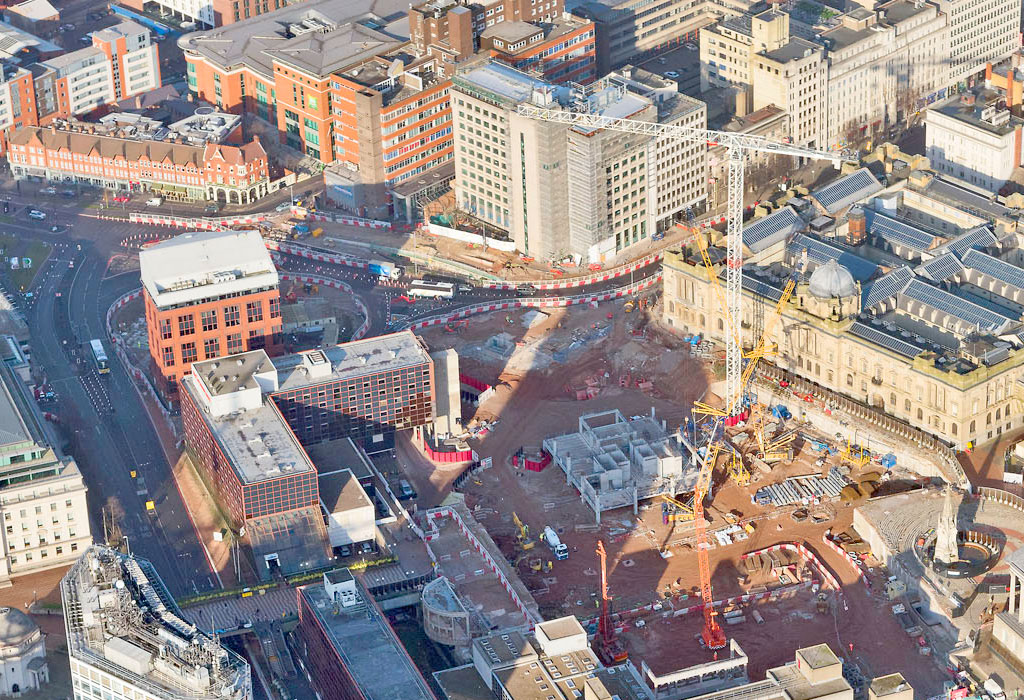 Paradise Circus update 4 – first aerial views of PCE's PreFastCore based development