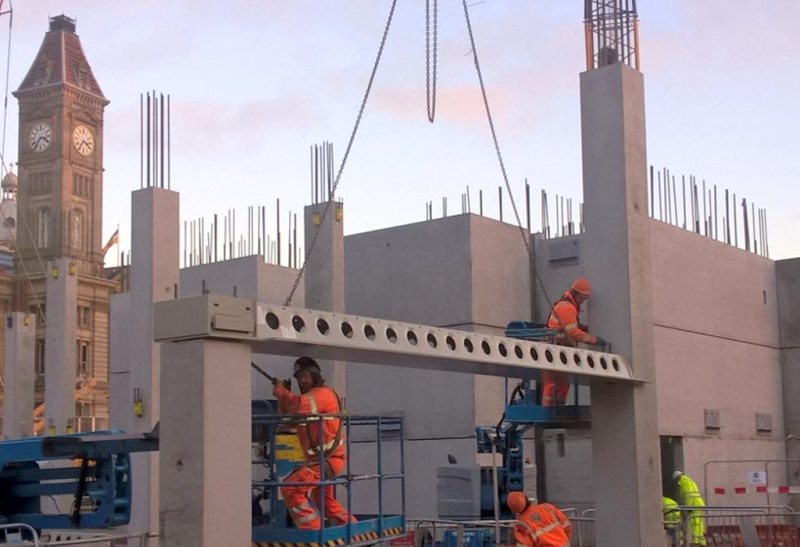 Paradise Circus update 5 – over 2,500 offsite manufactured precast components