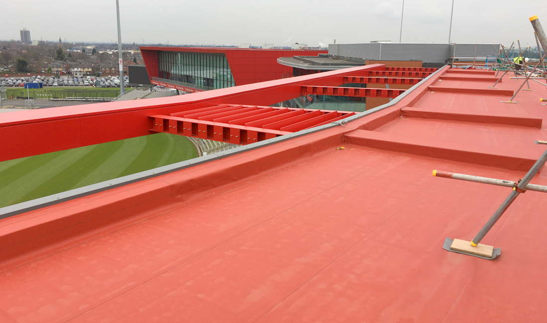 Emirates Old Trafford update 9 – Hilton Garden Inn takes shape